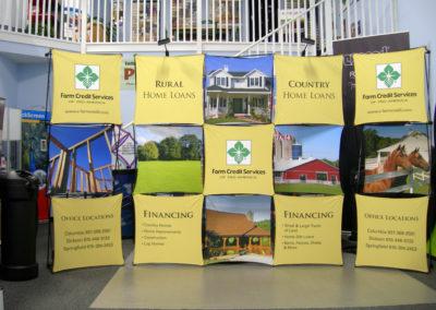 Farm Credit Services Display
