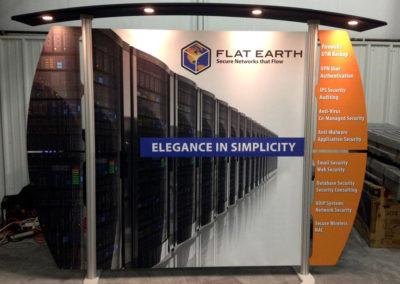 Flat Earth Networking