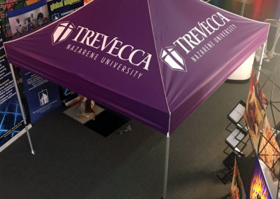 Trevecca - 10' Event Tent Dye Sub Canopy Top  7-26-16